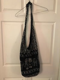 black and gray floral shoulder bag Surrey, V4N 3H9