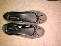 pair of gray suede flats Rochester, 14623