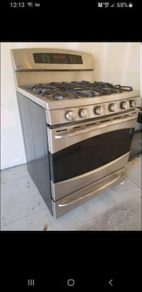 GE Gas Oven with Stovetop