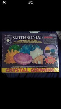Smithsonian Crystal Growing Kit (New) Silver Spring, 20906