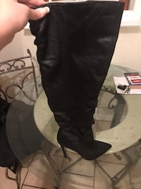 Black over the knee boots Germantown, 20876
