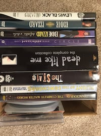 assorted DVD movie cases collection Brooklyn Park, 55444