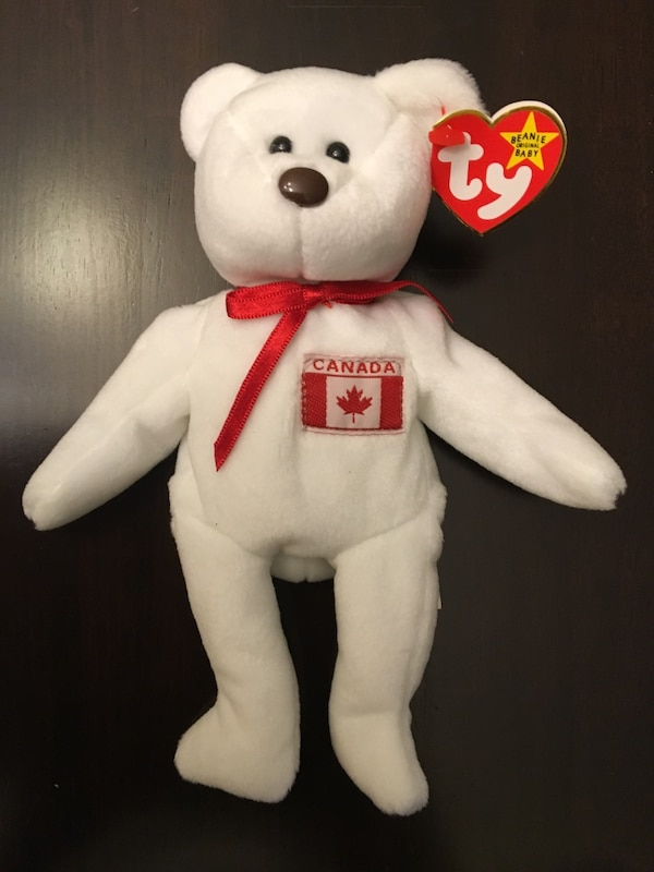 Used White canada ty beanie baby for sale in Calgary - letgo b635f792b38