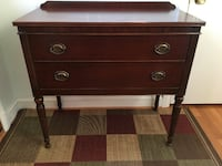 Thomasville 2 drawer buffet table SILVERSPRING