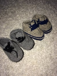 Baby 6-9 months knit shoes  Mississauga, L5E 2G8