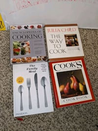 Cooking books (any or all) Rockville, 20850