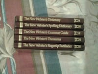 English dictionary (5 books in the case) Oakville
