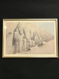 David Roberts lithographs of Egypt set of 6 Temecula, 92592