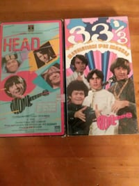 The monkees vhs tapes Virginia Beach, 23455