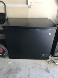 black and gray Magic Chef compact refrigerator Virginia Beach, 23464