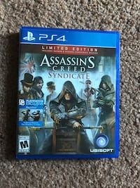 PS4 Assassin's Creed Syndicate case
