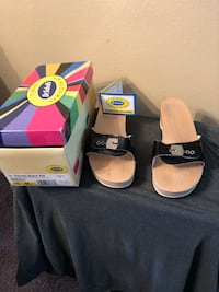 Dr Scholls black patent leather ...size10 Safety Harbor, 34695