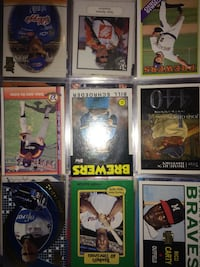 For sale over 200 sports cards 9/10 or baseball nice collection also NASCAR and Indianapolis cards included Duluth, 55805