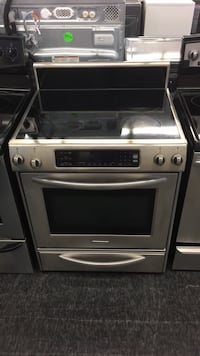 gray and black induction range oven Toronto, M3J 3K7