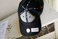 black and white fitted cap Bronx, 10467