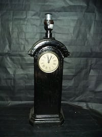 Antique  Electrical Table lamps &Clocks