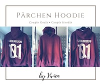 Pärchen Hoodie's  Hannover, 30659