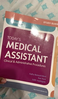 Third edition Today's medical assistant WORKBOOK  missing chapters