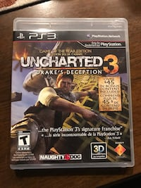 Uncharted 3 for PS3 Glen Burnie, 21061