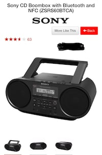 Sony Bluetooth Boombox, new in open box Toronto, M3A 2M5