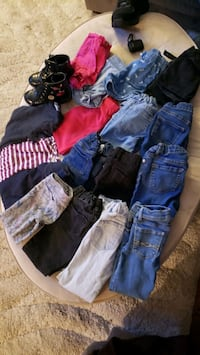 Girls clothes 5t/5