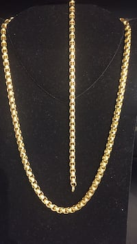 Stainless steel gold plated set  Las Vegas, 89102