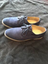 Men's Blue Suede Shoes Size 10 Cambridge, N1T 1L2