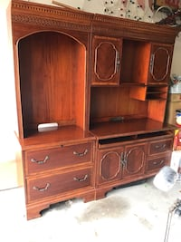 brown wooden dresser with mirror Corpus Christi, 78411
