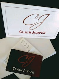 Claim Jumper's Gift Card $50 for $30 Sacramento, 95838