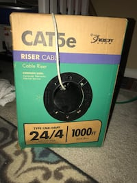 Cat5e 1000ft cable  Laurel, 20707