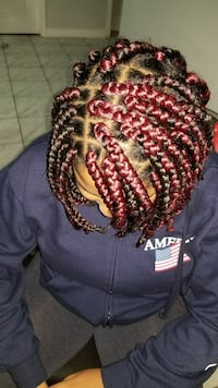 women's red and black braided hair Brampton, L7A 3T3