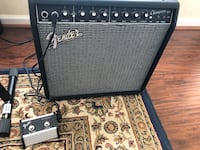 Fender Champion 40 2-Channel 1x12 Amp & Fender Champ Footswitch Pedal Chesapeake, 23322