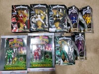 Power ranger action figures  Westchester