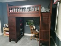 Pottery Barn bunk bed