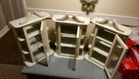 3 White Curio Cabinets Knoxville, 37914