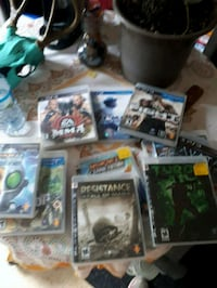 Play station 3 games Dunnville, N1A 2W1
