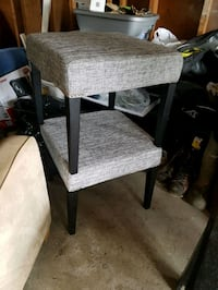gray and black wooden chair Calgary, T3C 3X6
