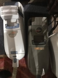 Two Electrolux canister vacuums and accessories Manchester, 03102