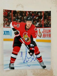 Marc Methot Autographed 8x10 Photo  Edmonton, T6L 2K3