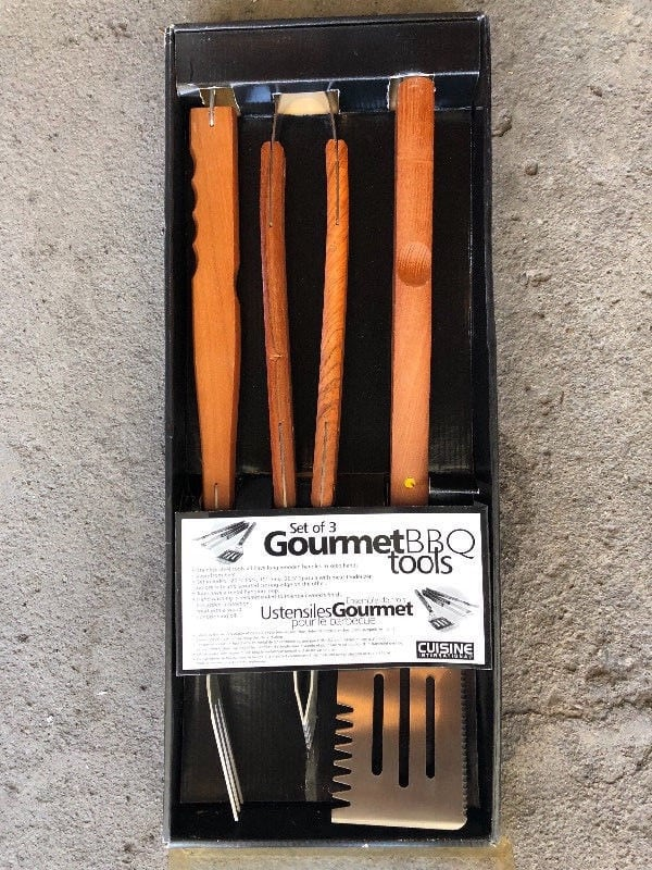 NEW-BBQ Utensils 3 piece set 08301689-b91a-446a-b392-18da4651b05c