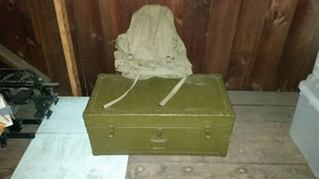 Classic Army Foot Locker Chest & Back Pack