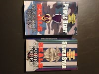 2 h. j riker paperback seals warrior breed purple heart and star books