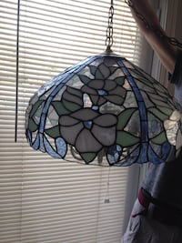Vintage hanging light fixture 42 km