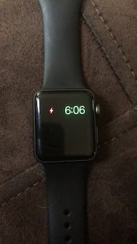 apple watch with black sport band Milwaukee, 53215