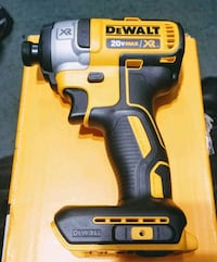 Dewalt 20v Impact Driver New (TOOL ONLY) Jersey City, 07305