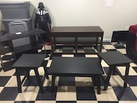 TV Entertainment stands, Coffee table and 2 end tables  Woodbridge, 22191