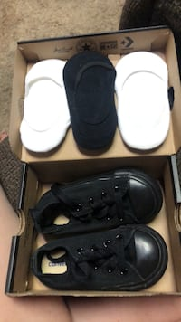 Toddler converse size 6 Midwest City, 73110