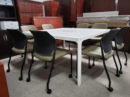 """Working Table-Heavy Duty-55""""x 55""""-Office-Business Quality"""