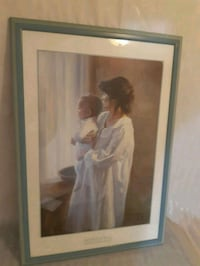 Great Christmas gift. Framed. Mother and Son by Robert Duncan Mississauga, L5N 6T9