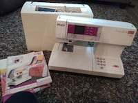 Like New Pfaff Classic Style Quilt Serger Sewing Machine Paradise